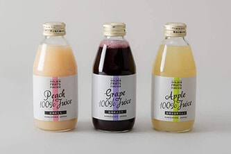 GOLDEN FRUITS FOREVER DRINKSのパッケージデザイン