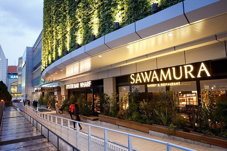 SAWAMURAのデザイン
