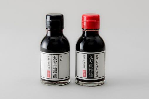 丸大豆醤油のパッケージデザイン