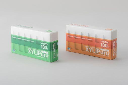 メディカルガム キリリプルのパッケージデザイン