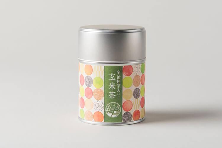 お茶缶ギフトのデザイン
