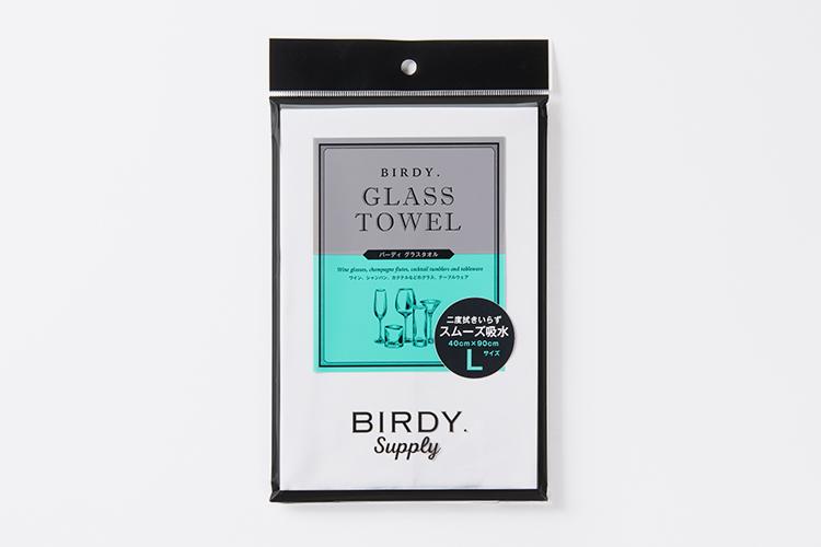 BIRDY. KITCHEN TOWEL/GLASS TOWELのデザイン