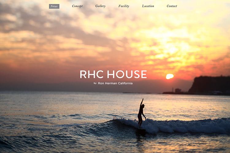 RHC HOUSE by Ron Herman Californiaのデザイン